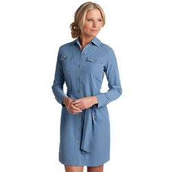 Women's Lightweight UPF Shirt Dress