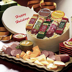 Savory Seven Summer Sausage and Cheese Gift Box
