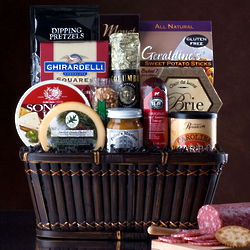 Meat and Cheese Bonanza Gift Basket