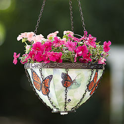 Weather-Resistant Colorful Hanging Planter