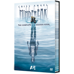 Criss Angel Mindfreak: The Complete Season 4 DVD Set