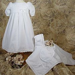 Preemie Christening Gown Set