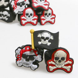 Deluxe Rubber Pirate Ring