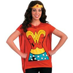 Wonder Woman T-Shirt Costume Set