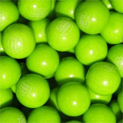 Green Apple Dubble Bubble Gumballs