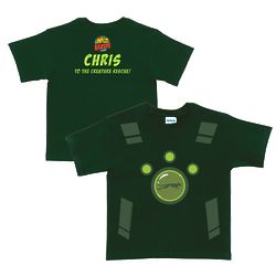 Personalized Wild Kratts Creature Power Suit T-Shirt