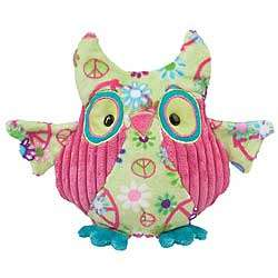 Peace Owl Plush Stuffed Animal