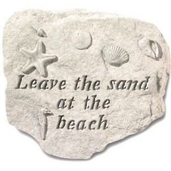 Leave the Sand at the Beach Stepping Stone