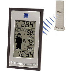 The Weather Channel Wireless Forecast Station with Clothing Icon