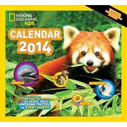 2014 National Geographic Kid's Almanac Wall Calendar