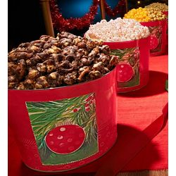 Holiday Ornament Design VIP Popcorn Tin