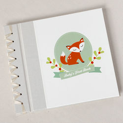 Baby's First Memory Book with Little Fox Design