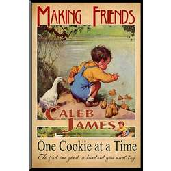 Personalized Childrens Nostalgic Making Friends Sign