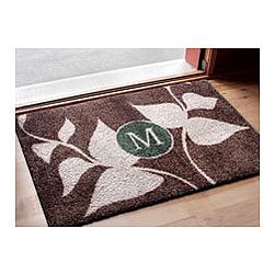 Leaves Growing Monogrammed Doormat