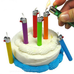 Flikz Lighter Birthday Candles