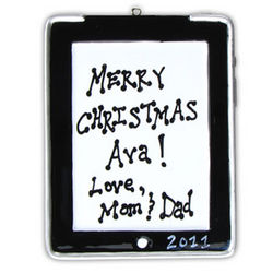 iPad Touch Tablet Personalized Ornament