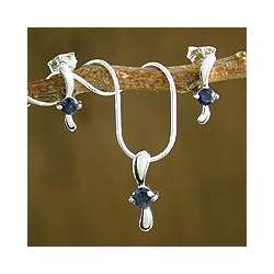 Flight Iolite Jewelry Set