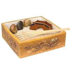 Ceramic Dragon Tabletop Zen Garden