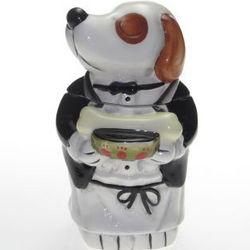 Dinner is Served 3D Dog Treat Jar