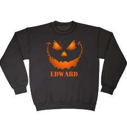 Adult Personalized Killer Pumpkin Sweatshirt