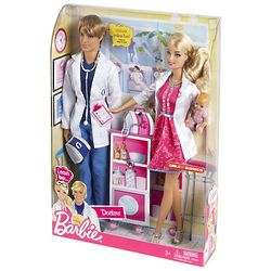Barbie and Ken I Can Be a Doctor Set