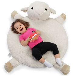 Lamb Nap Mat with White Noise