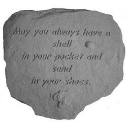 May You Always Have a Shell Sea Shore Stone