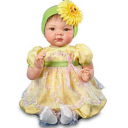 Growing Love Breast Cancer Awareness Baby Doll