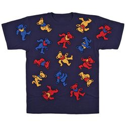 Grateful Dead Bear Pile T-Shirt