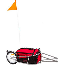 Single Wheel Bicycle Trailer with Cargo Bag