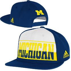 Michigan Wolverines Youth Color Block Snapback Hat