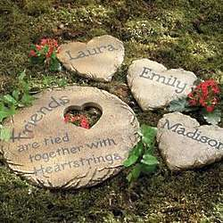 Personalized Friends Large Stepping Stone