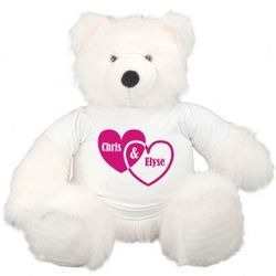 Giant Couples Hearts Teddy Bear