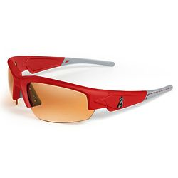 Los Angeles Angels Stitch Sunglasses in Blue with Red Tips