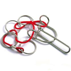 Racing Wire No. 10 String Brainteaser Metal Puzzle