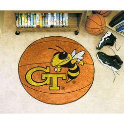 Georgia Tech Basketball Mat