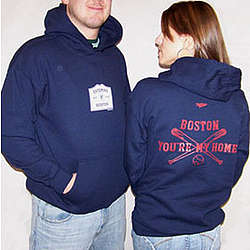 Boston You're My Home Hoodie