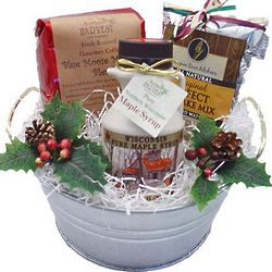 Christmas Morning Breakfast Gift Bucket