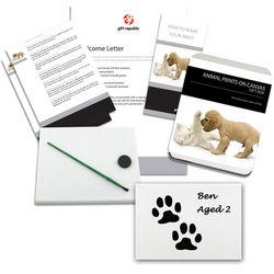 Animal Prints on Canvas Kit