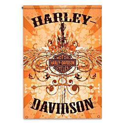 Harley-Davidson Wings Flag
