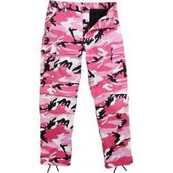 Pink Camo BDU Pants