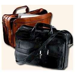 Vaqueta Expandable Briefcase