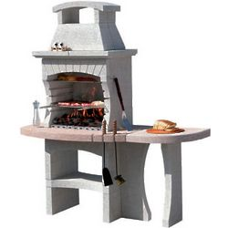 Congo Masonry BBQ Grill for Charcoal and Wood