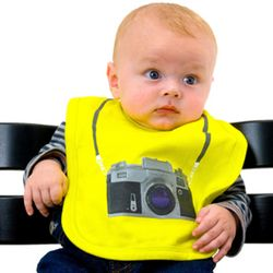 Baby Paparazzi Bib