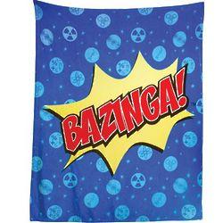 Bazinga Bedding Fleece Throw