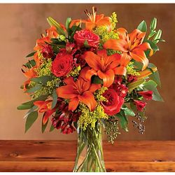 Harvest Lily Bouquet