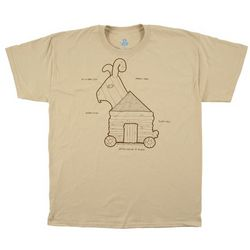 Monty Python and the Holy Grail Trojan Bunny T-Shirt