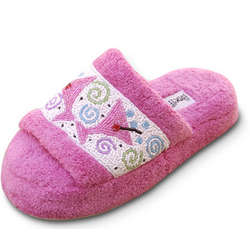 Beaded Cosmo Slippers
