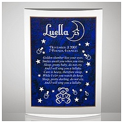 Baby Nighttime Lullaby Plaque
