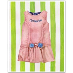 Personalized Spring Dress Print